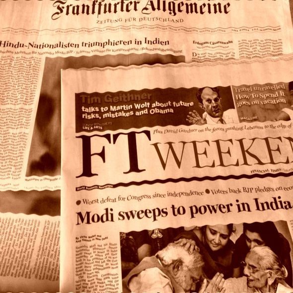 Modi sweeps to power in India